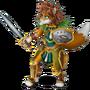 Fox warrior deco