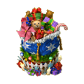 Luxurious gifts bag winter holidays.png