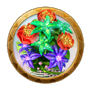 Dream icon magical meadow