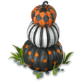 Pumpkin tower deco