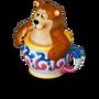 Bear cup deco