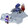 Snow battle deco