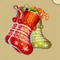 Coll newyear christmas sock