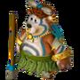 Aboriginal bear deco