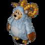 Aries bear deco