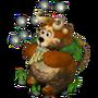 Bear faun deco