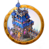 Dream icon dark castle