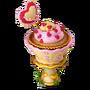 Romantic muffin deco