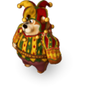 Bear jester deco