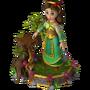 Enchanted girl deco