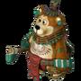 Maya warrior deco