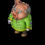 Kung Fu Piggy deco