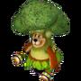 Bear broccoli deco