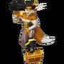 Fox pirate deco