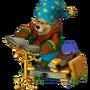 Bear storyteller deco
