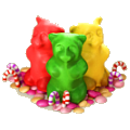 Jelly bears deco