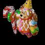 Bear spice cake deco