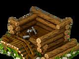 Mushroom hunter's hut