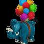 Blue Elephant deco