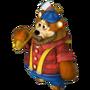 Bear logger deco