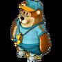 Bear trainer deco