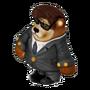 Bear in Black deco