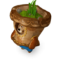 Bear pot deco