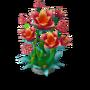 Nurtured flower deco