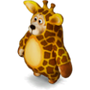 Bear giraffe deco
