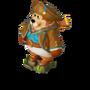 Pirate treasure map deco