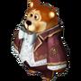 Bear watchmaker deco