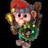 Winter monkey
