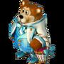 Bear with petals deco