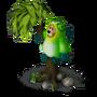 Bear chameleon deco