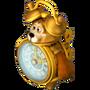 Clock-bear deco