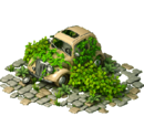 Flowerbed car