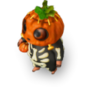 Little pumpkin deco