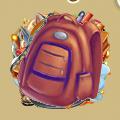 Coll school schoolbag