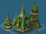 Sunken castle