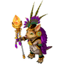 Tropical shaman deco