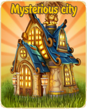 Mysterious city update logo