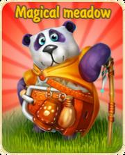 Magical meadow update logo