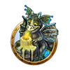 Dream icon dragon dungeon