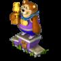 Bear champion deco