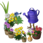 Magical watering can deco