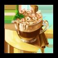 Cacao with meringue