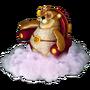 Bear on cloud deco