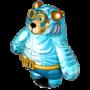 Amphibious bear deco