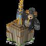 King Kong deco