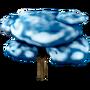 Cloud tree deco